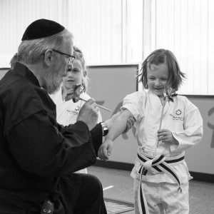 Rabbi Goldberg with Children