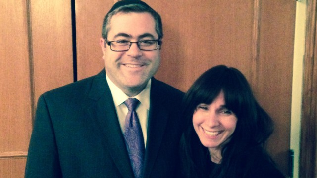 Rabbi Steven and Rachel Burg
