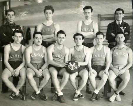 Poppop-on-basketbal-team