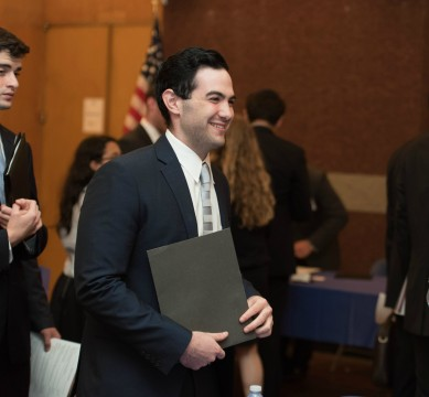 The Career Center hosted two career fairs on campus this month.