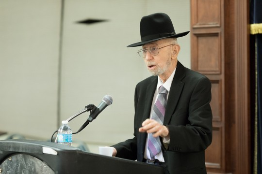 Kristallnacht Memorial - Rabbi Fulda Speech