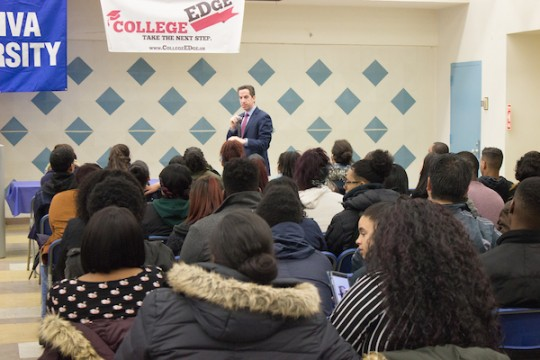 College Edge Event, hosted by Yeshiva University