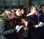 Women singing for Tree of Life Synagogue