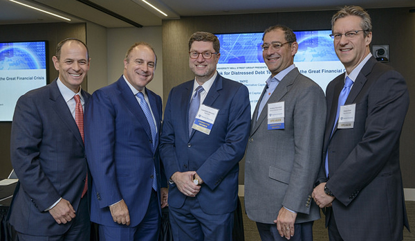 (l-r): Saul Burian, Steve Tananbaum, Lawrence Askowitz, Andrew Herrenstein and Edward Mulé
