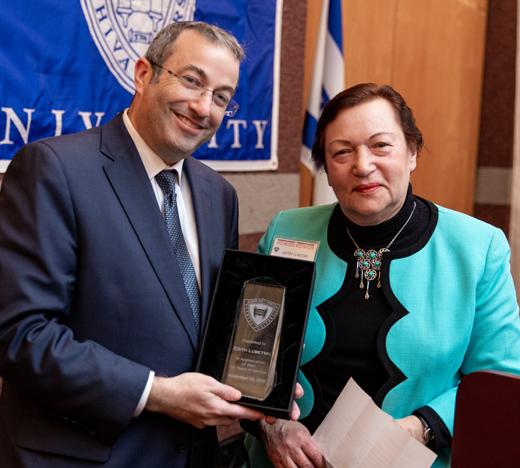 Edith Lubestki and Dr. Ari Berman