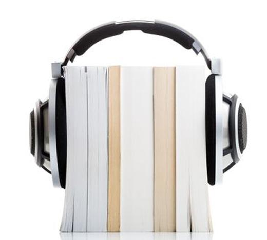 Headphone and books