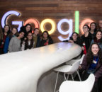 Current students take a trip to visit tech startups in Israel.