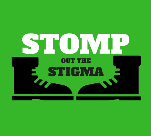 Stomp Out The Stigma Logo