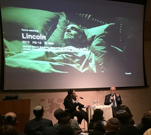 Clip of Spielberg's Lincoln