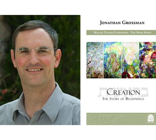 Jonathan Grossman and Book Cover