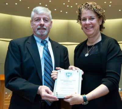 Dr. Lawrence J. Siegel and Lu Steinberg