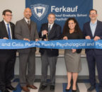 Ribbon cutting ceremony at Parnes Clinic - group shot