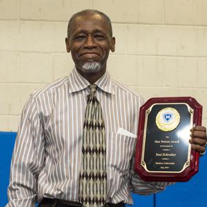 Stan Watson Receives His Award