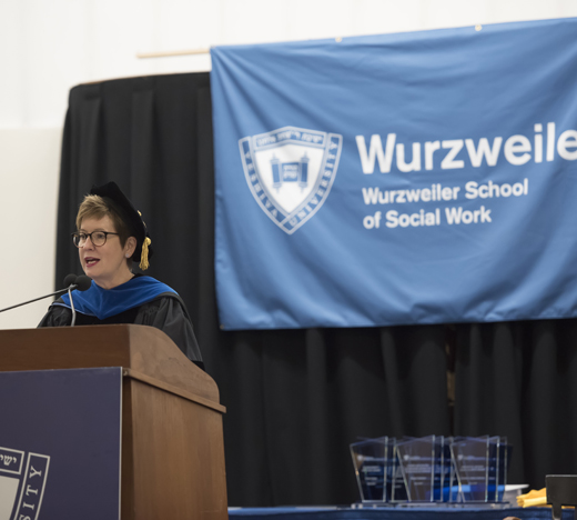 Danielle Wozniak at Podium