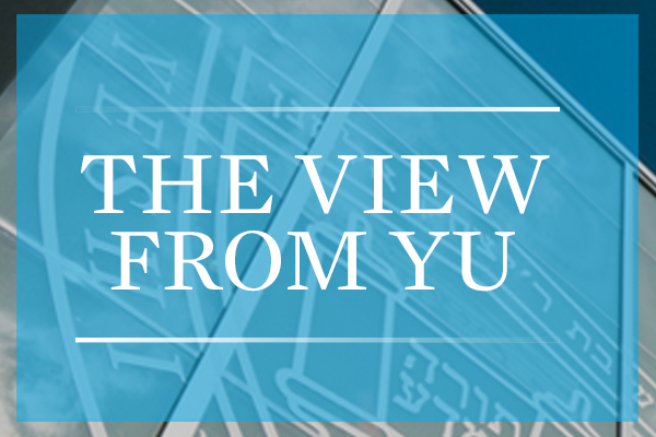 View from YU Logo