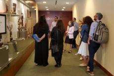 Azrieli students take in Hey, Wow! The Art of Oded Halahmy