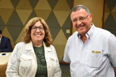 Dr. Rona Novick and Dr. Jonathan Mirvis