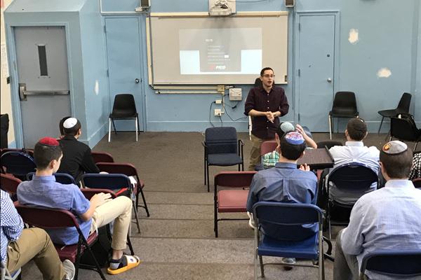 MTA Entrepreneurship kick off; Shuey Jacoby speaks to students