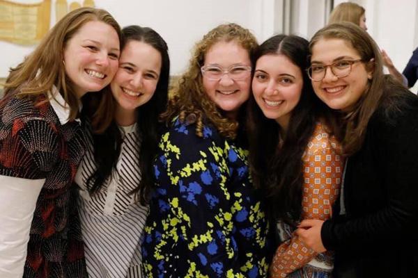 Group of women at Beren Shabbton