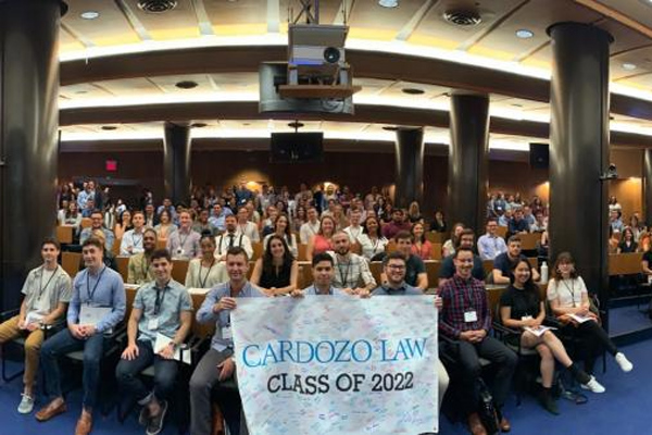 Panorama picture of the Class of 2022