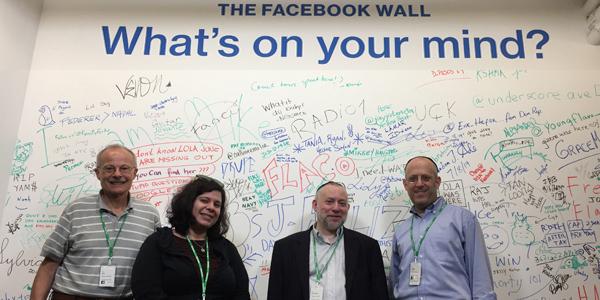 Four professors at Facebook
