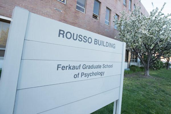 Signage for the Ferkauf Graduate School of Psychology