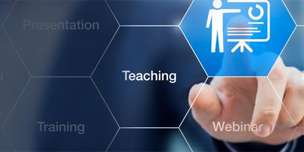 Graphic illustrating teaching