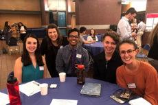 Big Apple Health Colloquium group photo: Jessica Wasserman, Amanda Parker, Deepan Guharajan, Jessica Kruse, Allyana Wiviott.