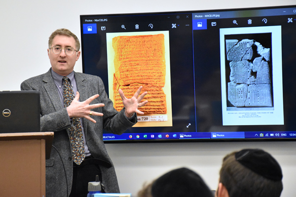 Dr. Shalom Holtz describes two cuneiform documents he used for his book, Praying Legally