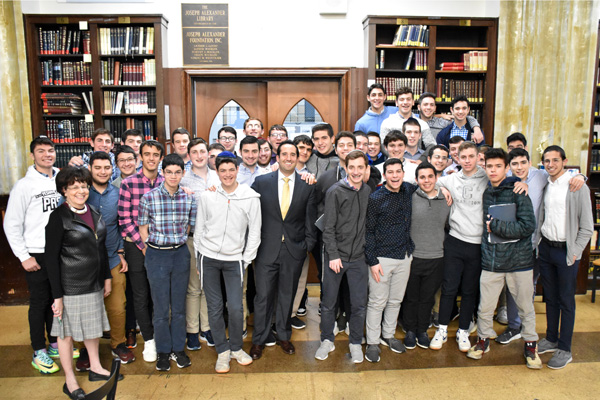 Group photos of Names, Not Number students, MTA