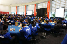 Teams gather at the NJIT 2019 ICPC competition