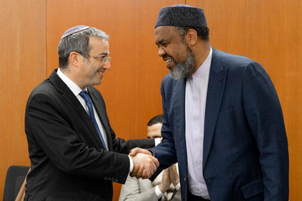(l-r): Dr. Ari Berman and Imam Mohamed Magid