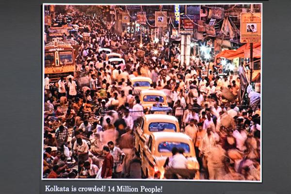 Crowds in Kolkata