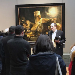 Meir Soloveichik at the National Gallery