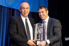 (l-r) Rabbi Michael Taubes and Rabbi Josh Kahn, head of school
