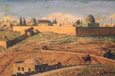 Ludwig Blum's Panorama of Jerusalem