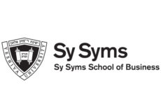 Sy Syms logo, which says Sy Syms School of Business