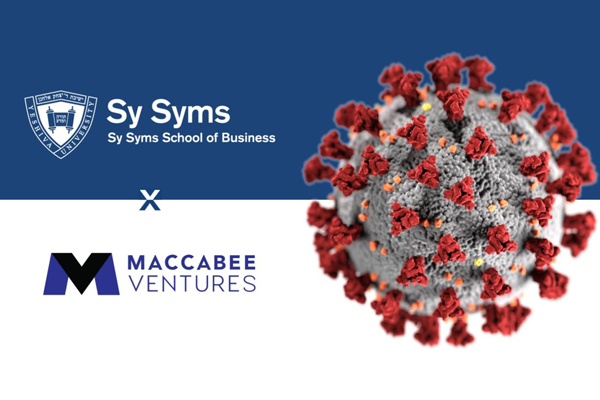 Header with coronoavirus attacking Mac Ventures and Sy Syms