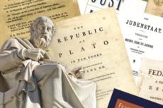 Plato and his books
