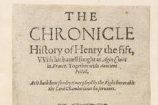 Cover page of Henry V