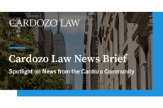 Cardozo News Brief Header