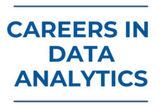 Text: Careers In Data Analytics