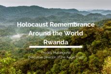 Placard for talk with Freddy Mutanguha