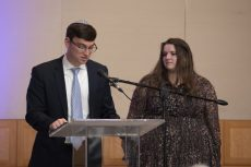 Adam Baron and Alexandrie Brody, co-organizers