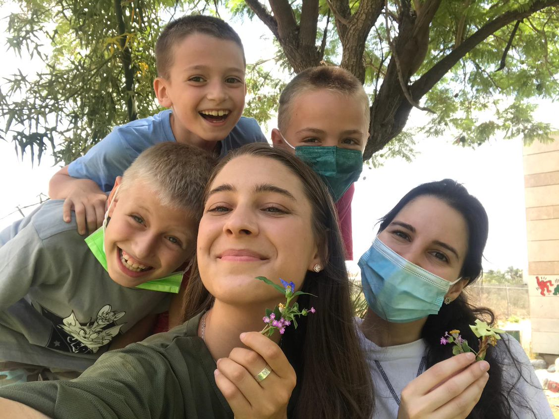 YU Student Volunteers at Counterpoint Israel 2021