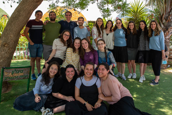 YU Student Counselors participating in Counterpoint Israel 2021
