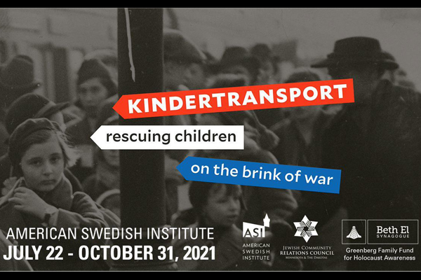 Poster for Kindertransport at the American Swedish Institute