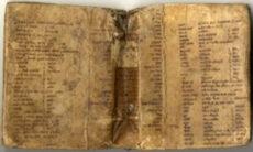 Yeshiva University Library's copy of Sefer Yuhasin