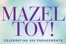 Mazel Tov! Celebrating 500 Engagements