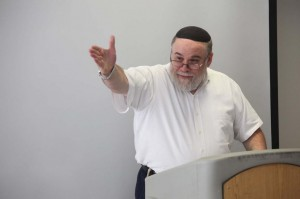 Ephraim Kanarfogel, E. Billi Ivry Professor of Jewish History at Revel, helped organize the conference.